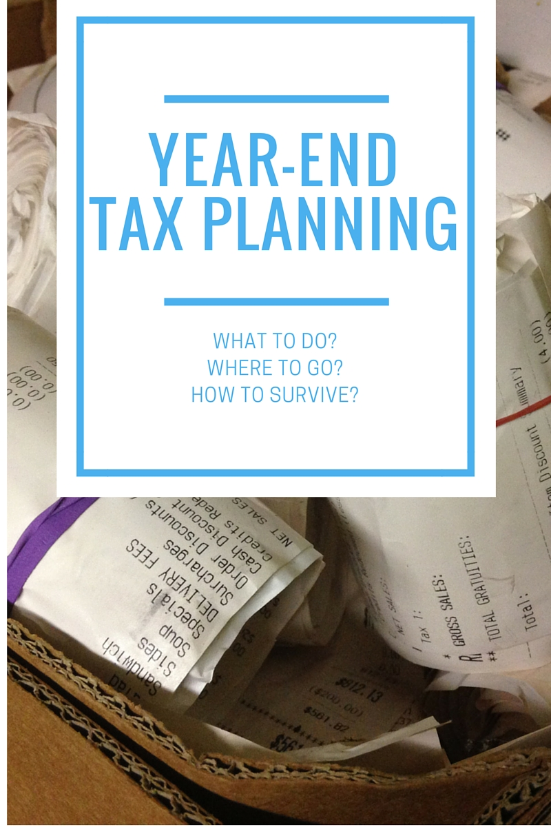 Year-End Tax Planning